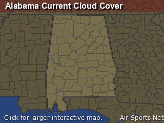 Alabama Cloud Cover