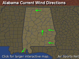 Alabama's Current Wind Direction