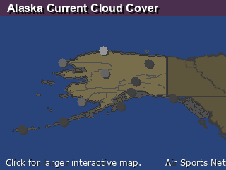 Alaska Cloud Cover