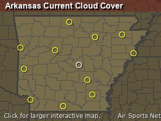 Arkansas Cloud Cover