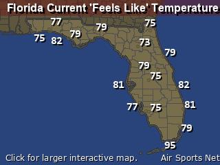 Florida Apparant Temperature