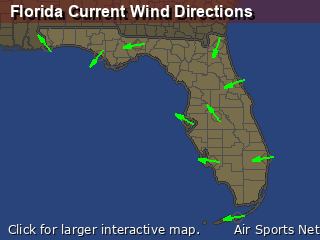 Florida's Current Wind Direction