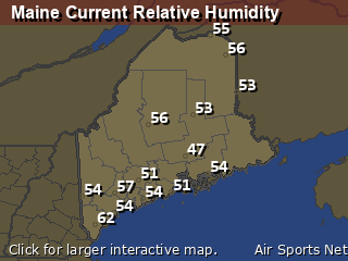 Maine Relative Humidity