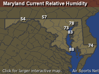 Maryland Relative Humidity