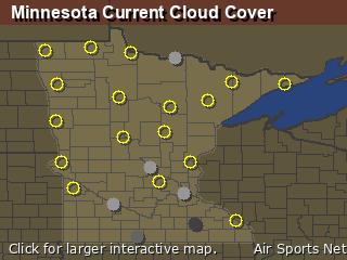 Minnesota Cloud Cover
