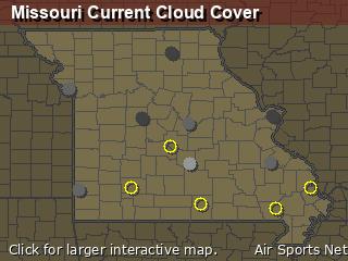 Missouri Cloud Cover