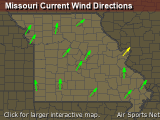 Missouri's Current Wind Direction