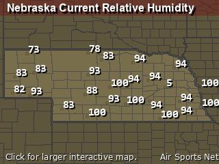 Nebraska Relative Humidity