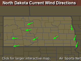 North Dakota's Current Wind Direction