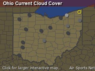 Ohio Cloud Cover