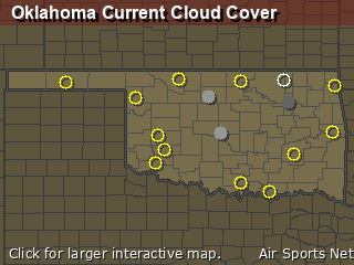 Oklahoma Cloud Cover