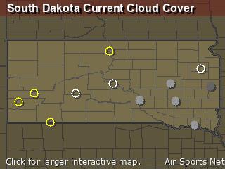 South Dakota Cloud Cover