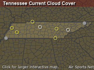 Tennessee Cloud Cover
