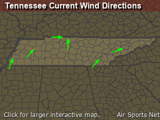Tennessee's Current Wind Direction