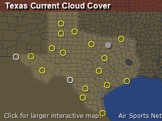 Texas Cloud Cover
