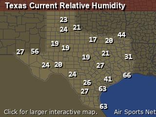 Texas Relative Humidity