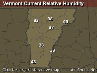 Vermont Relative Humidity
