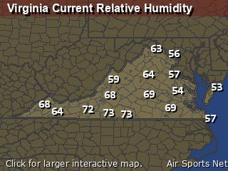 Virginia Relative Humidity