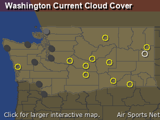 Washington Cloud Cover