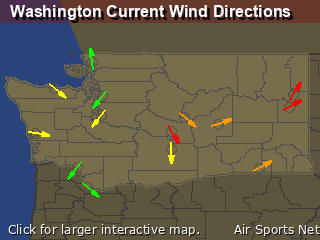 Washington's Current Wind Direction