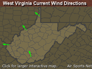 West Virginia's Current Wind Direction