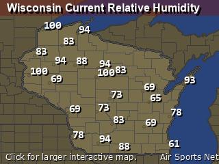Wisconsin Relative Humidity