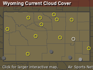 Wyoming Cloud Cover