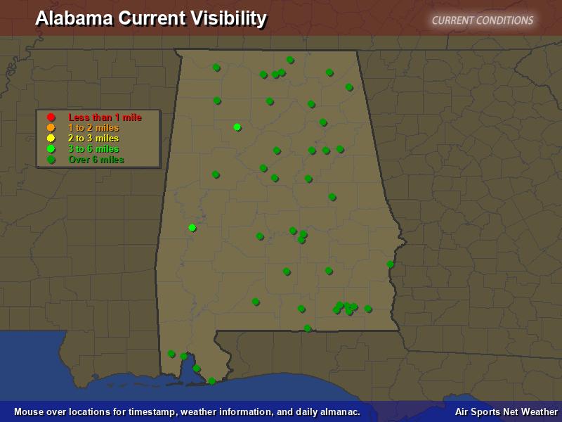 Alabama Visibility Map