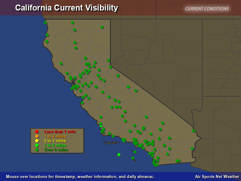 California Visibility Map