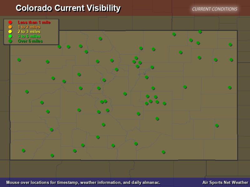 Colorado Visibility Map