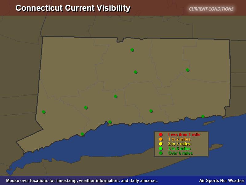 Connecticut Visibility Map