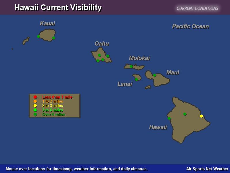Hawaii Visibility Map