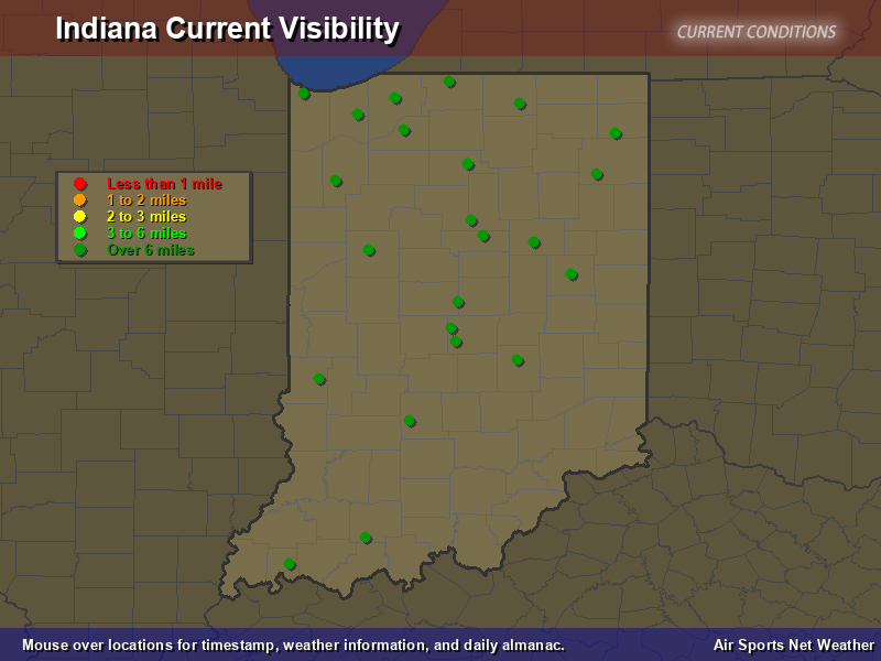 Indiana Visibility Map