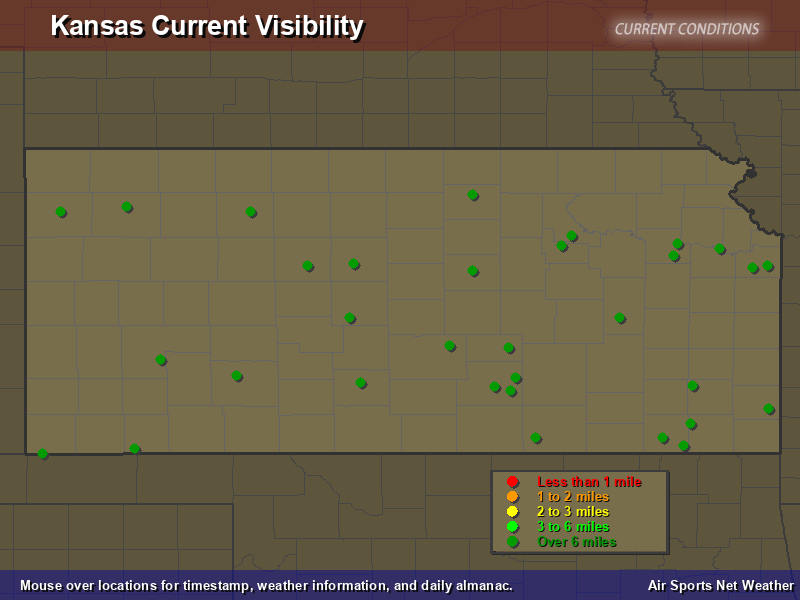 Kansas Visibility Map