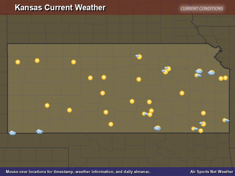 Kansas Weather Map