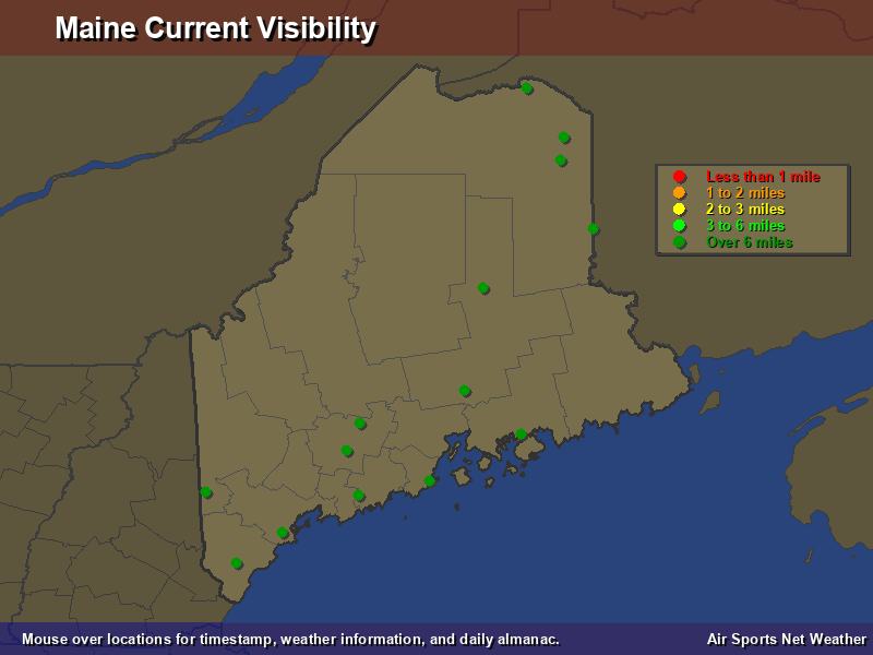 Maine Visibility Map