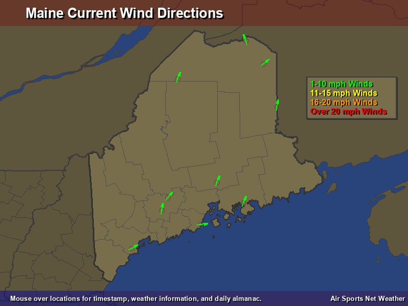 Prevailing Wind Direction Map My Blog Blowing My Way RealTime - Us wind direction map