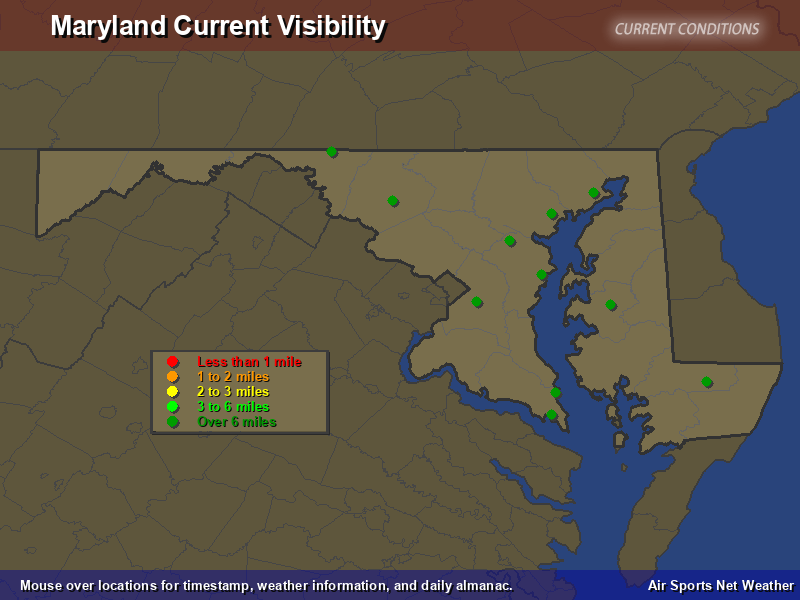 Maryland Visibility Map