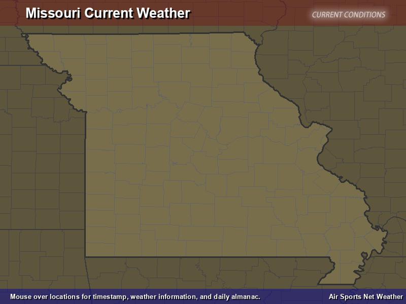 Missouri Weather Map