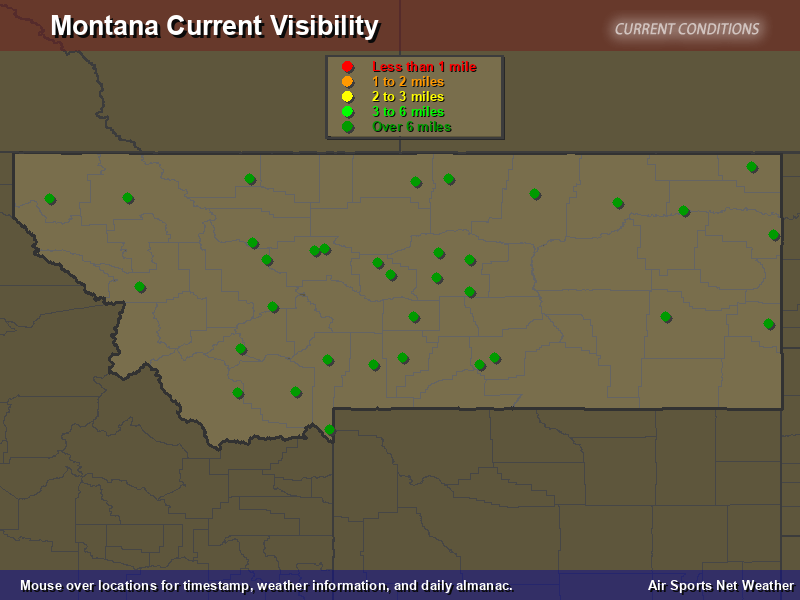 Montana Visibility Map