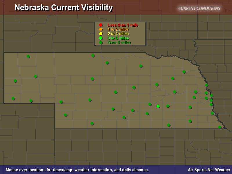 Nebraska Visibility Map