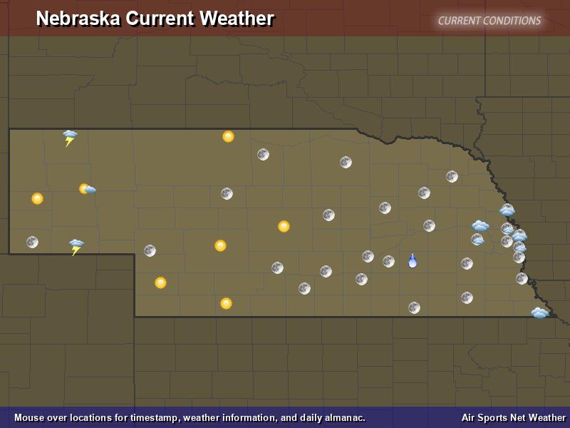 Nebraska Weather Map