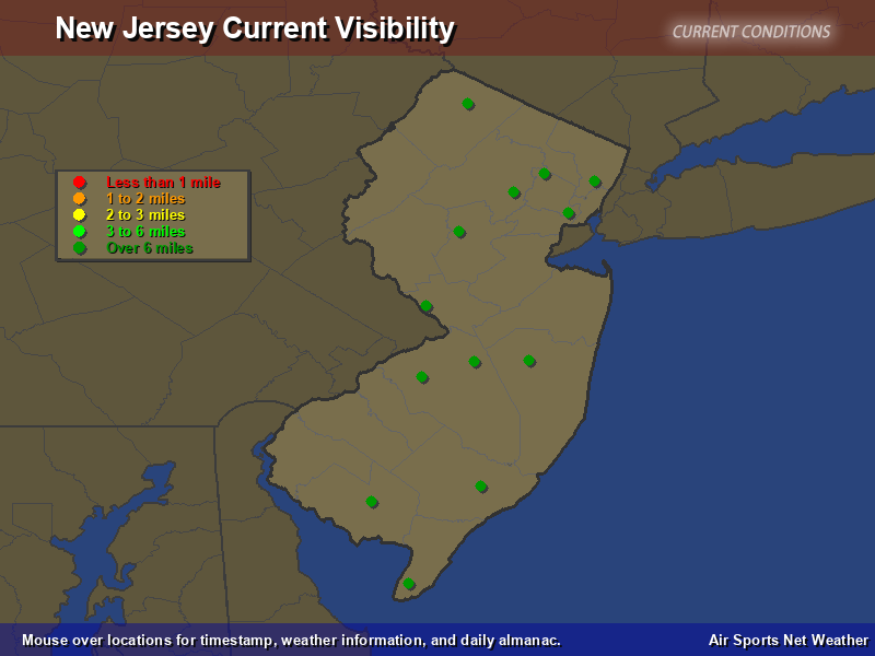 New Jersey Visibility Map