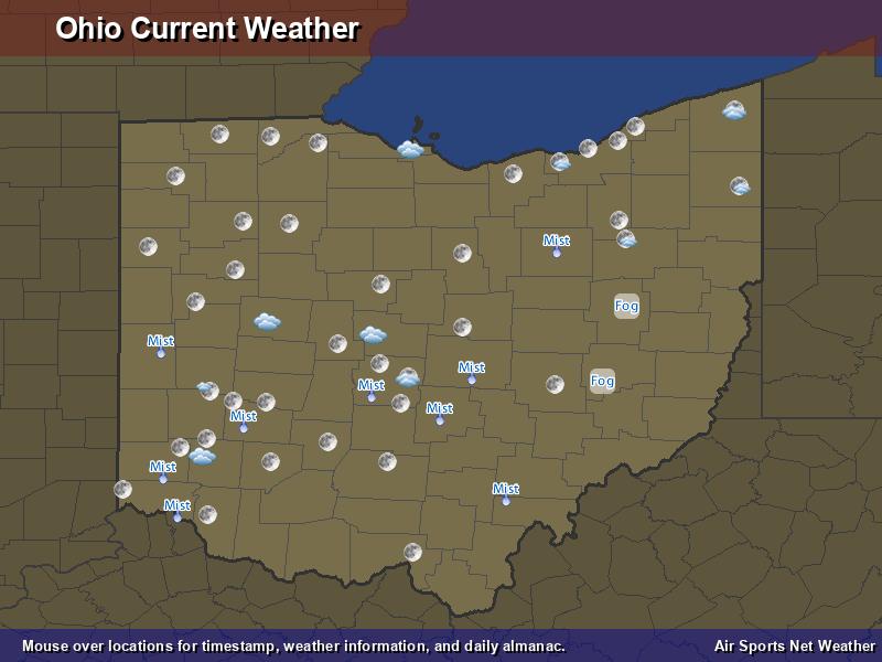 Ohio Weather Map