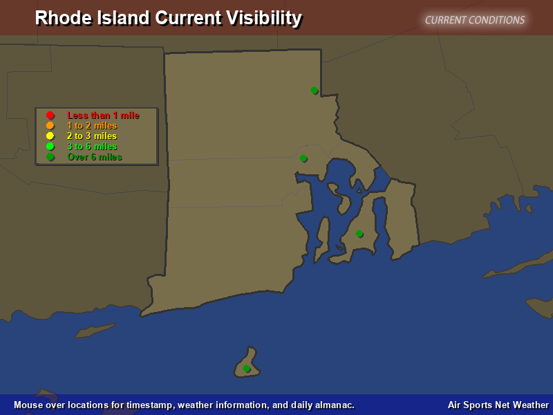 Rhode Island Visibility Map