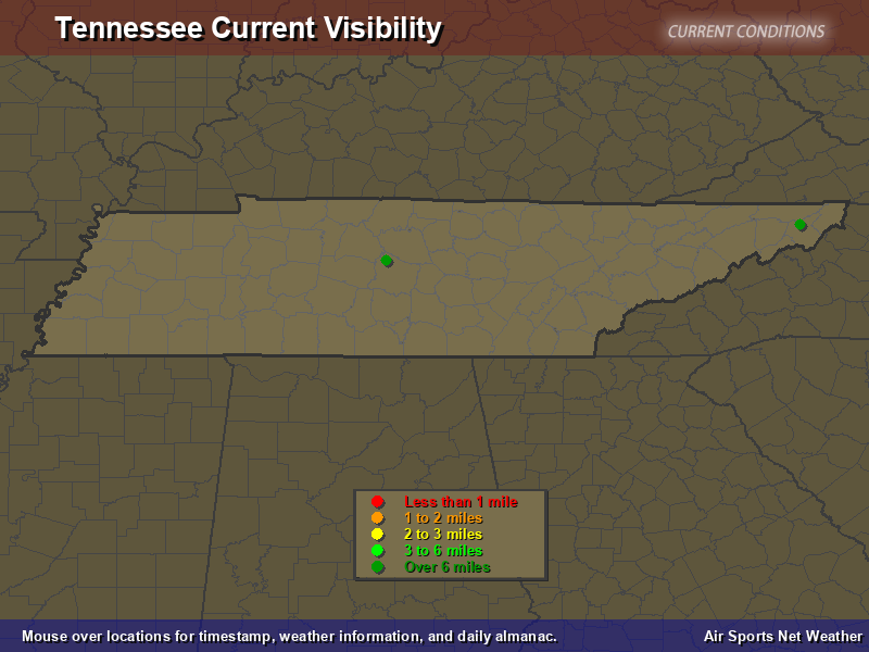 Tennessee Visibility Map