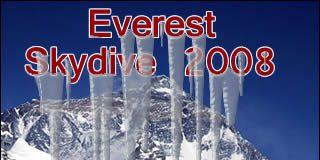 Skydiving Mt Everest