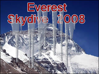 Everest Skydive 2008