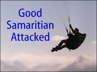Good Samaritan Pilot Attacked