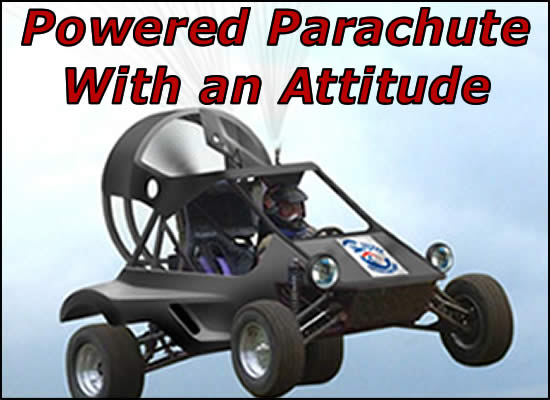 Powered Parachute with an Attitude